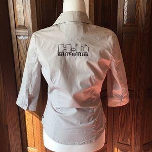 Harley Davidson blouse Woman's Small